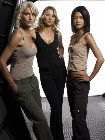 Hot Cylons from Battlestar Galactica