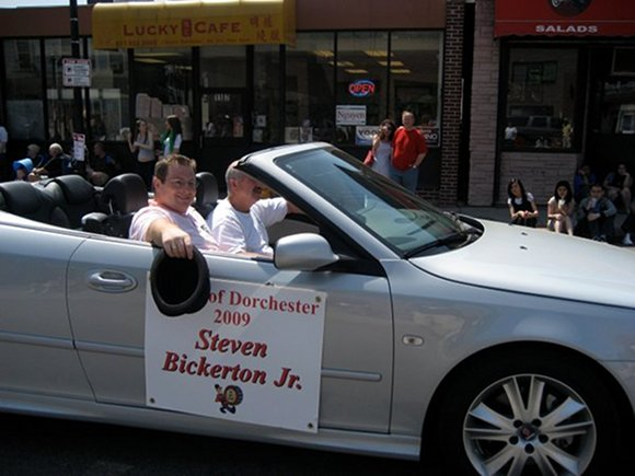 Unlike many other politicians the Mayor of Dot, Steve Bickerton, chose to ride